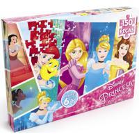 Puzzle Quebra Cabeça 150 Peças Retrato De Princesas - Grow - Kanui