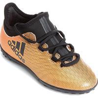 Chuteira Society Adidas X 17 3 Tf Infantil - Masculino
