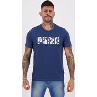 Camiseta Puma Graphic Ka Azul