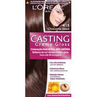 Coloração Permanente Casting Creme Gloss N° 415 Chocolate Glacê L'Oréal 1 Unidade