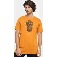 Camiseta Hd Core Sku Masculina - Masculino-Laranja