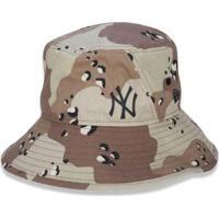 Chapéu Bucket New York Yankees Mlb Desert Full Print - New Era - Unissex