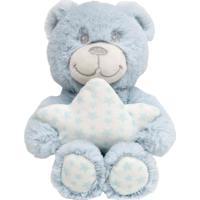 Ursinho Star Azul Buba Multicolorido