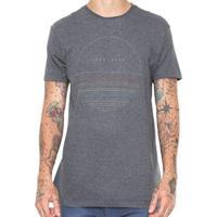 Camiseta Hang Loose Silk Finetype Masculina - Masculino-Chumbo