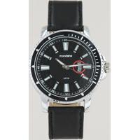 Relógio Analógico Mondaine Masculino - 99390G0Mvnh1 Preto - Único