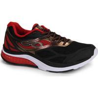 Tênis Running Masculino Olympikus Race - Pto/Vrm