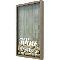 Quadro Porta Rolhas De Vinho Wine Tasting Natural