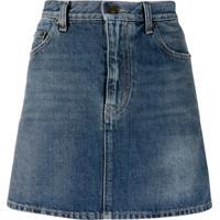 Saint Laurent Minissaia Jeans - Azul