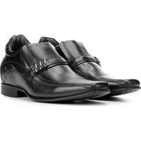 Sapato Social Couro Rafarillo Office Alt I Masculino - Masculino-Preto