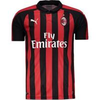 Camisa Milan Home 2018 S/N° - Torcedor Puma Masculina - Masculino