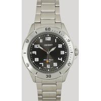 Relógio Analógico Orient Masculino - Mbss1155A G2Sx Prateado - Único