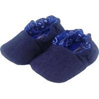 Pantufa Tatibella Baby Jeans Azul
