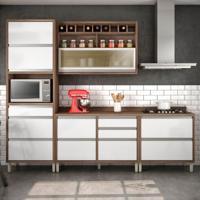 Cozinha Baronesa Completa - 4 Peças - 500217 - Branco - Nesher