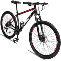 Bicicleta Aro 29 Dropp Aço Sport Freio A Disco 21V Suspensão - Unissex
