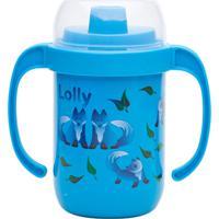 Copo Antivazamento Zoo Lolly Baby Azul