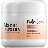 Máscara Capilar Magic Beauty Nutri Expert 250G - Unissex-Incolor