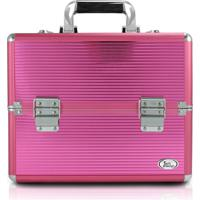 Maleta Profissional De Maquiagem Mã©Dia Jacki Design Beauty Pink - Rosa - Feminino - Dafiti