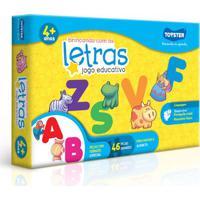 Jogo - Brincando Com As Letras - Toyster