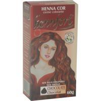 Tintura Henna Creme Hennfort Chocolate 60G