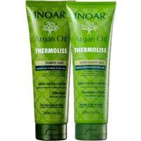 Kit Inoar Argan Oil 1 Shampoo 240Ml + 1 Cond 240Ml - Unissex-Incolor
