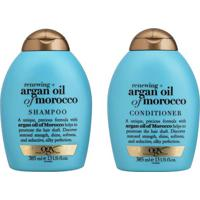 Kit De Shampoo & Condicionador Argan Oil Of Morocco Ogx-Johnson & Johnson