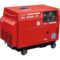 Gerador À Diesel Trifásico 5000W Fechado Dg-6000St Kawashima