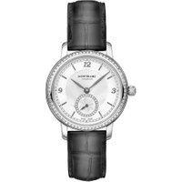 Relógio Montblanc Feminino Couro Cinza - 118534
