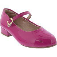 Sapato Molekinha Boneca Verniz Rosa