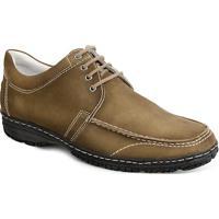 Sapato Casual Masculino Conforto Sandro Moscoloni Monison Marrom Claro