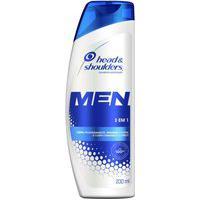 Shampoo Head & Shoulders Anticaspa 3 Em 1 Masculino 200Ml