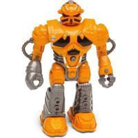 Boneco Robô - 13 Cm - Tecno Xr-S - Laranja - Dtc - Masculino-Incolor