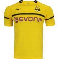 Camisa Borussia Dortmund Iii 18/19 Puma - Masculina - Amarelo