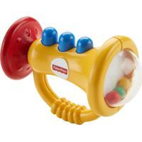 Fisher Price Mordedor Trompete - Mattel