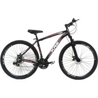 Bicicleta 29 Alumínio Krs 24V Kit Shimano Freio À Disco - Unissex