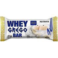 Barra Whey Grego Bar 1 Unidade De 40G Nutrata - Unissex