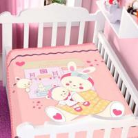 Cobertor Infantil Jolitex Raschel Casa De Boneca Feminino