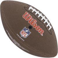 Bola De Futebol Americano Wilson Nfl Team San Francisco 49Ers - Marrom fa77bb3d224