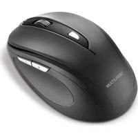 Mouse Sem Fio 2.4 Ghz Comfort 6B Preto Usb Multilaser Mo237