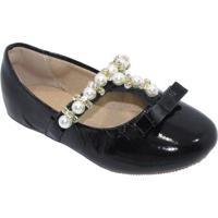 Sapato Boneca - Preto- Luluzinhaluluzinha