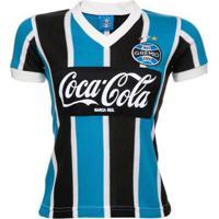 Camisa Retrô Grêmio 1989 Feminina - Feminino