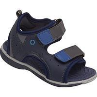 Papete Com Velcro & Recortes - Azul Marinho & Azul Escurkiath