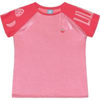 Blusa Lilica Ripilica Infantil 101102620001 Rosa