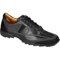 Sapato Casual Masculino Conforto Sandro Moscoloni Kirkland Preto Black