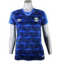 Camisa Feminina Umbro Grêmio Oficial 2019