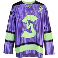 Sankuanz Moletom Oversized 'Hockey' - Roxo