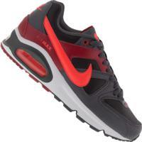 Tênis Nike Air Max Command - Masculino - Preto/Vermelho