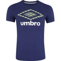 Camiseta Umbro Twr Colors Graphic Classic - Masculina - Azul Escuro