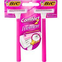 Aparelho De Depilação Bic Comfort 2 Women 2 Unidades