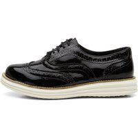 Sapato Oxford Casual Conforto Q&A 300 Preto