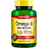 Ômega 3 - 90 Cápsulas - Maxinutri - Unissex